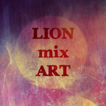 Lion mixart