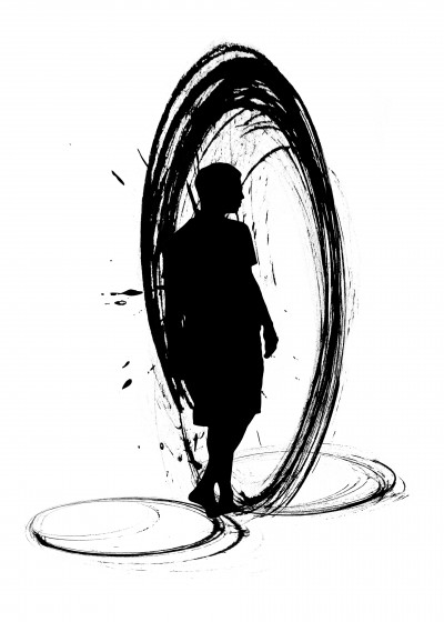 Denis Marsili Black and White   Displate Prints on Steel