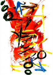abstract light bright graffiti urban street art design unique fire orange yellow blue green