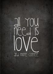 coffee love starbucks chalkboard black white quote typo funny humor kitchen business bureau shabby