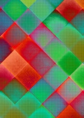 abstract geometric colorful piaschneider ateliercolourvision checked design plaid red green orange
