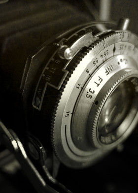 vintage camera baldinette 1950 german photography inourgardentoo black white camera 35mm film