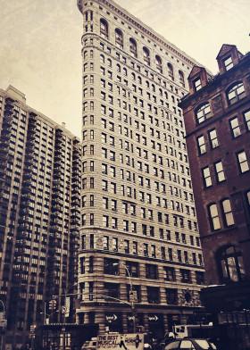 flatiron new york city nyc inourgardentoo architecture history vintage building triangle