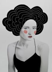 girl ink black