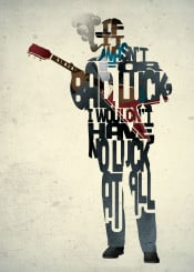 blues guitar albert king guitar type typography music musician