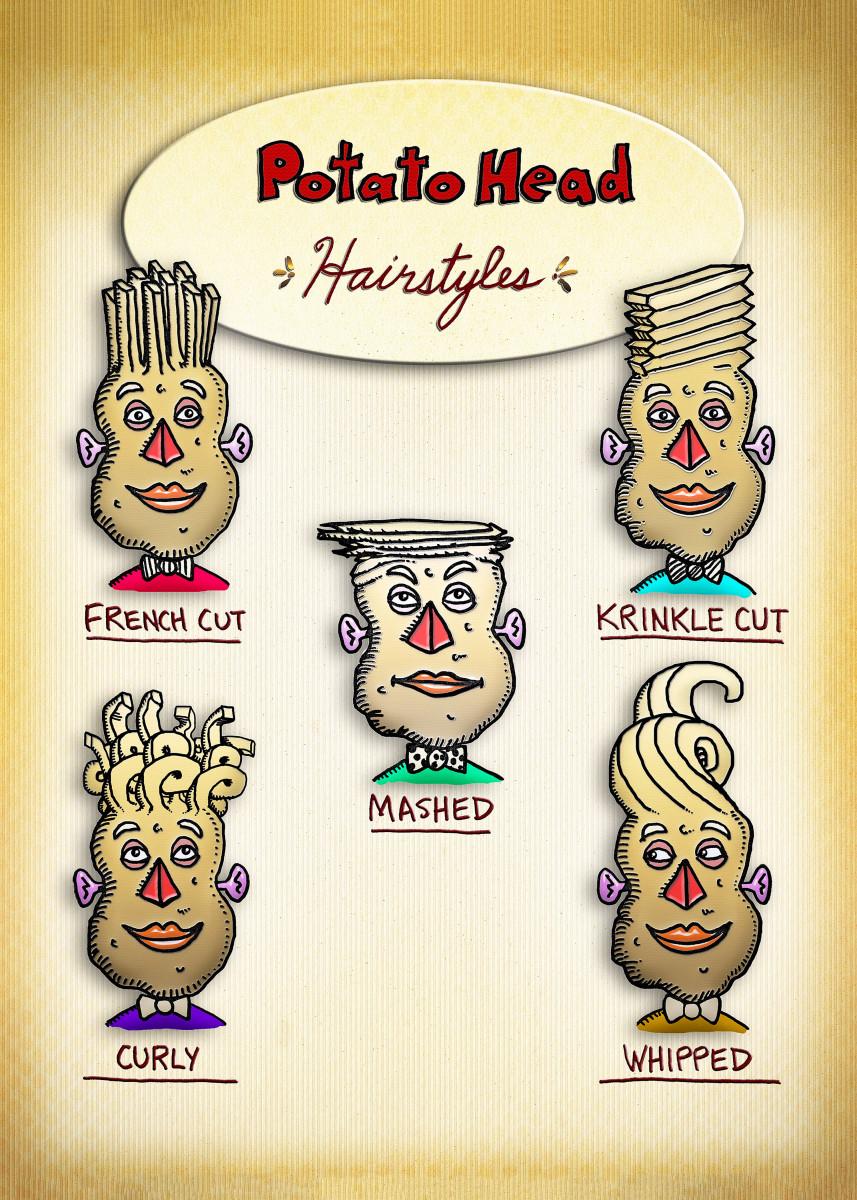 Potato Head Hairstyles 21829