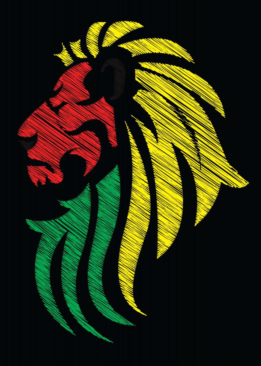 Tiger Reggae Music Flag Colors - I hope you like it! =)