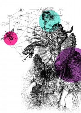 creature monster madame psyche shrink psychoanalysis dreams subconscious snake