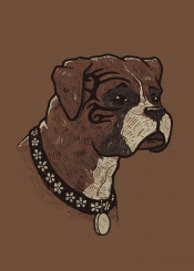 mike tyson boxer sports animals dogs boxers tattoo pop culture art