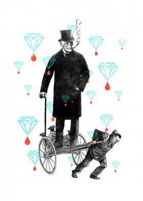 diamonds blood class worker social politics exploitation money