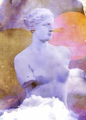 aphrodite milos venus greek sculptor woman classical art collage goddess