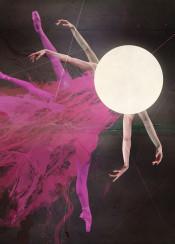 dance ballet dancer art modern legs young girl woman fly arms move jump grace red