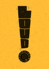 spinal tap typography text type graphic design words word art music yellow clever ronan lynam