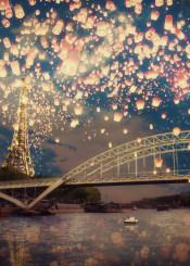 paris dream eiffell french love
