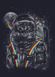 cats cat art cat shirt space spcae cat astro cat cosmic nyan cat
