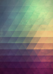 color bright fade gradient triangles abstract tessellation spires