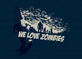 zombies blood death paint painting screenpainting brush far west cowboy dark sky