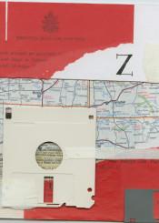 collage map pope invite