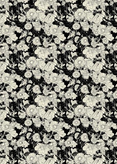 Nicebleed >> Patterns   Displate Prints on Steel