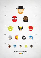 popculture superheroes heroes chucknorris popart 8bit pixels