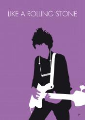 bob dylan like rolling stone minimal minimalism minimalist poster artwork alternative chungkong song