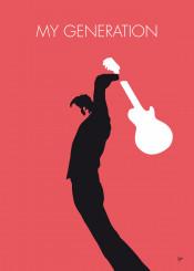 the who my generation minimal minimalism minimalist poster artwork alternative chungkong song music