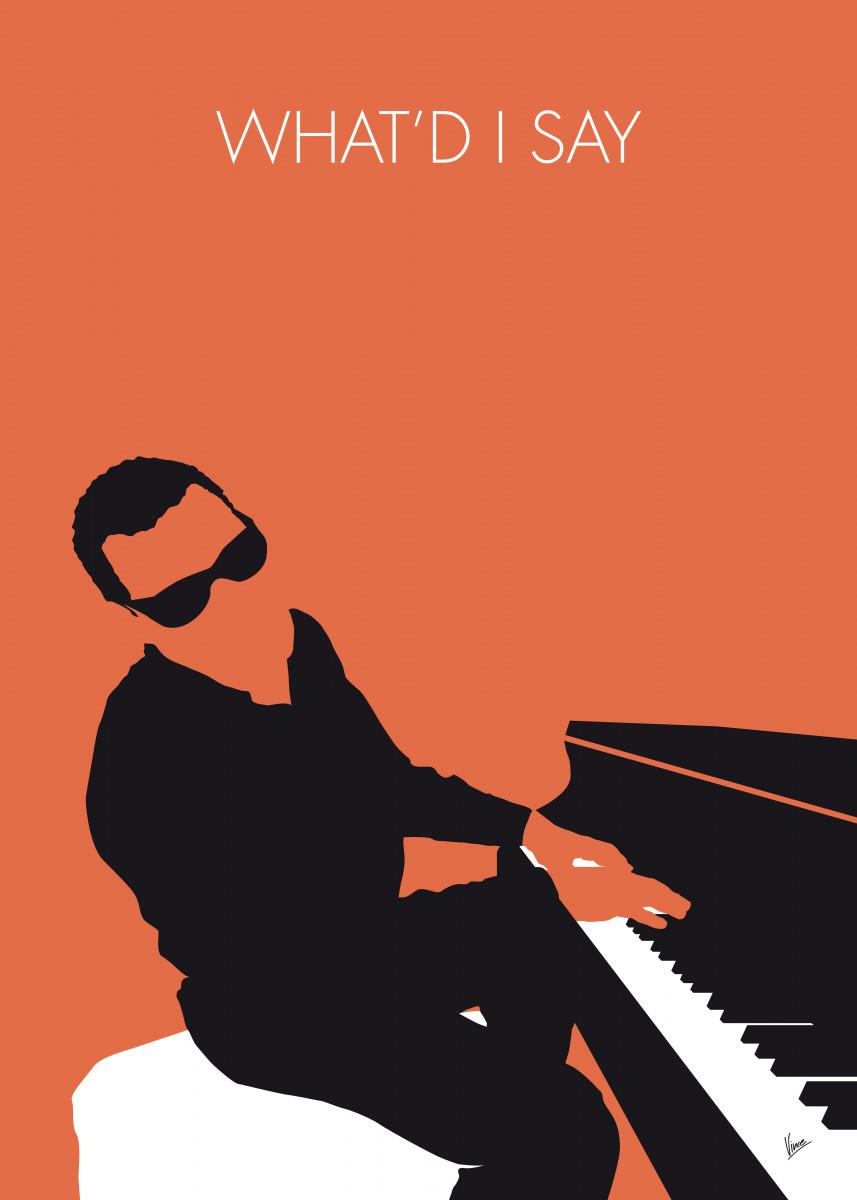 No003 MY Ray Charles Minimal Music poster 31406