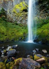 oregon waterfall landscape waterscape moss mossy waterfalls