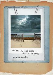 bible verse storm sea beach