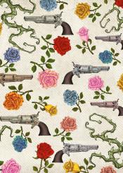pistol rose vintage