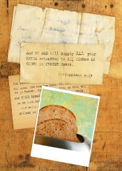 daily bread scripture bible verse inspiration collage