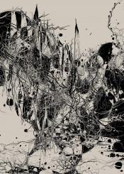 abstract organic nature digital graphics