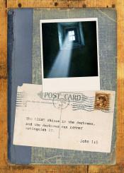light shine post card collage text polaroid book photograph inspiration bible scripture
