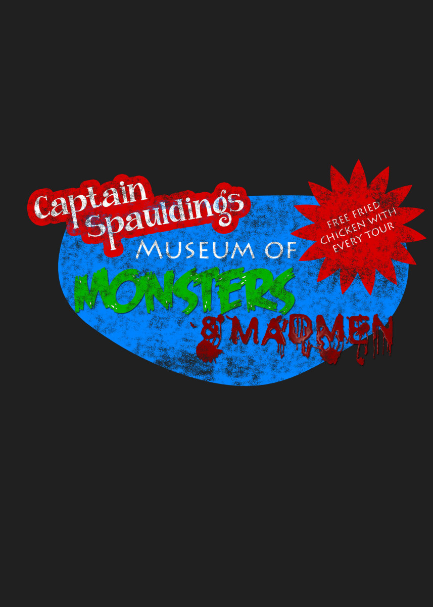 Captain Spaulding's Museum of Monsters inspired by House of 1000 Corp 36339