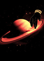 saturn planet solar system nature stars dj music turntables awesome wow scratch