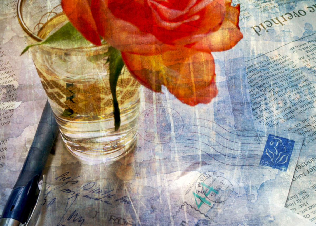 Posters Met Letter : Love letter fine art photogra by zena zero metal posters displate