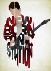 muse music musician guitar lyrics lyric red type typography