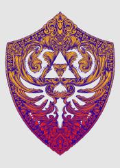 zelda hyrule legend shield hylian knights wind waker gaming princess skyward sword ocarina time