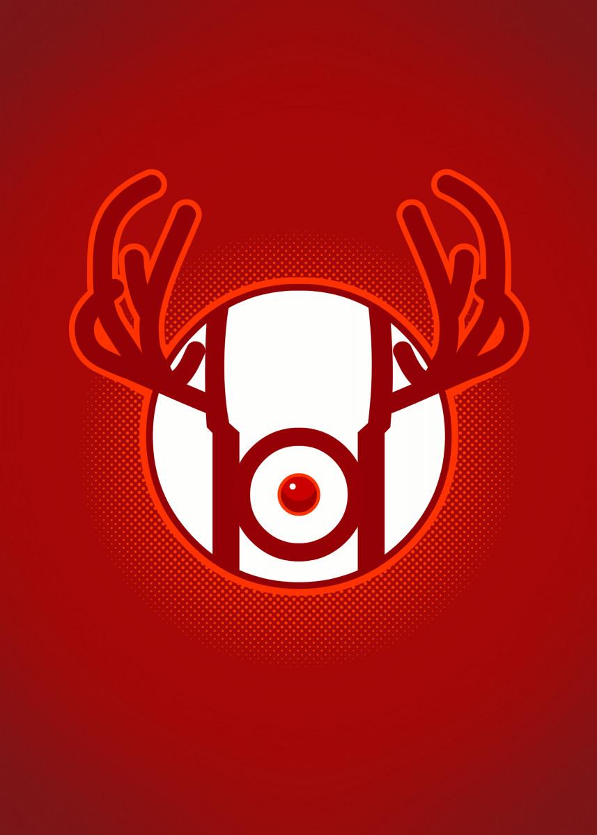 Red Nosed Lantern 45302