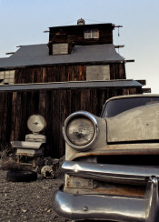 classic abandoned old vintage barn gold mine nevada