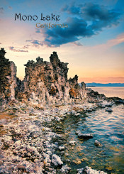 mono lake california landscape unusual rocky lake water shore
