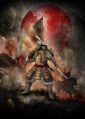 samurai banzai warrior katana japan