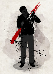 dexter morgan michael c hall serial killer black and white