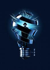 bulb man idea