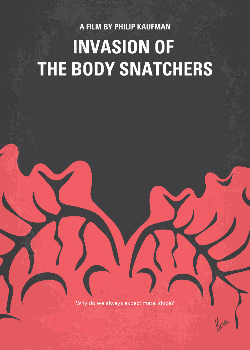 No374 My Invasion of the Body Snatchers minimal movie In San Francisc 53513