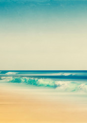 wave horizon seascape beach atlantic blur abstraction texture nature saltwater