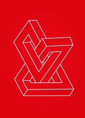 optical illusion penrose triangle 3d penrose tribar impossible mathematics it deception gee