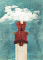 love head in the clouds