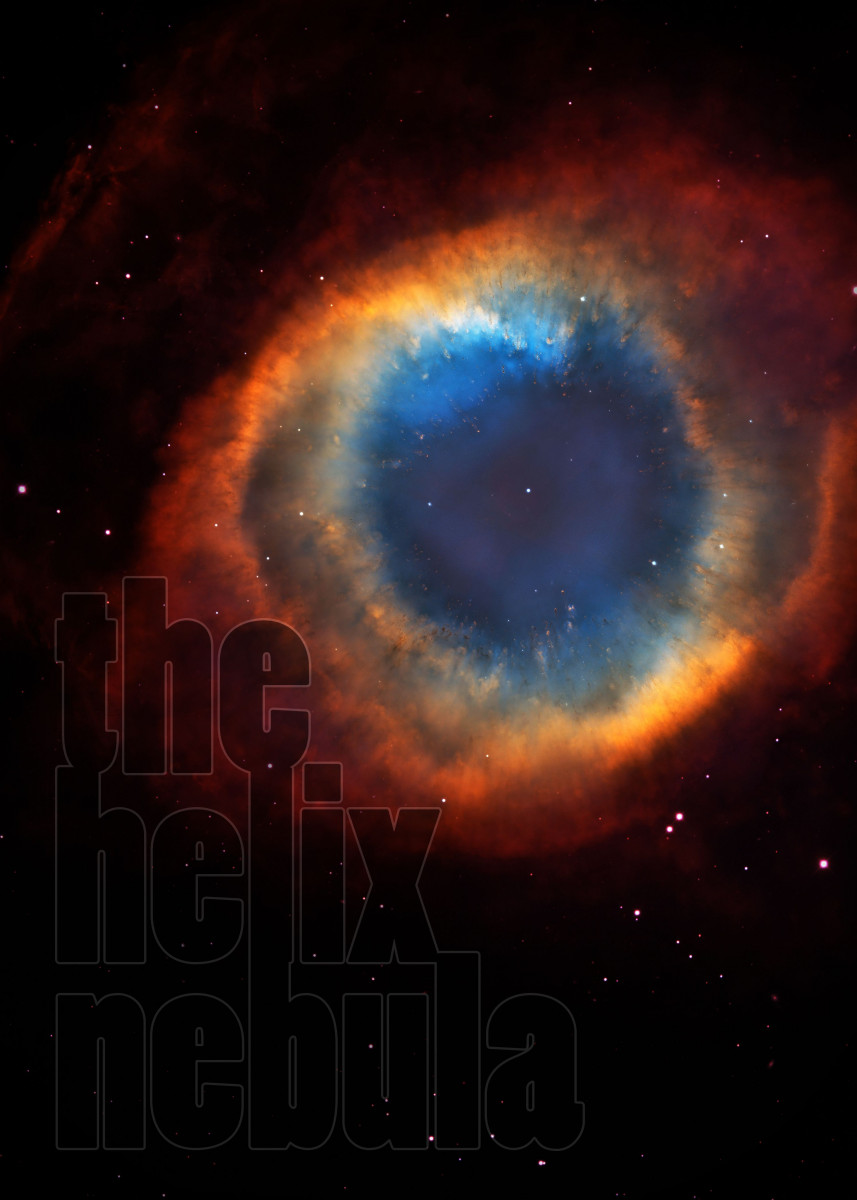 helix nebula european space organization - HD 857×1200