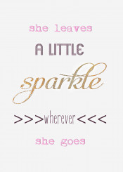 she leaves sparkle quote love me girl strong gold pink cute words text white
